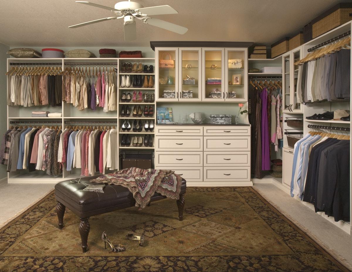 Org Options premier walk-in closet